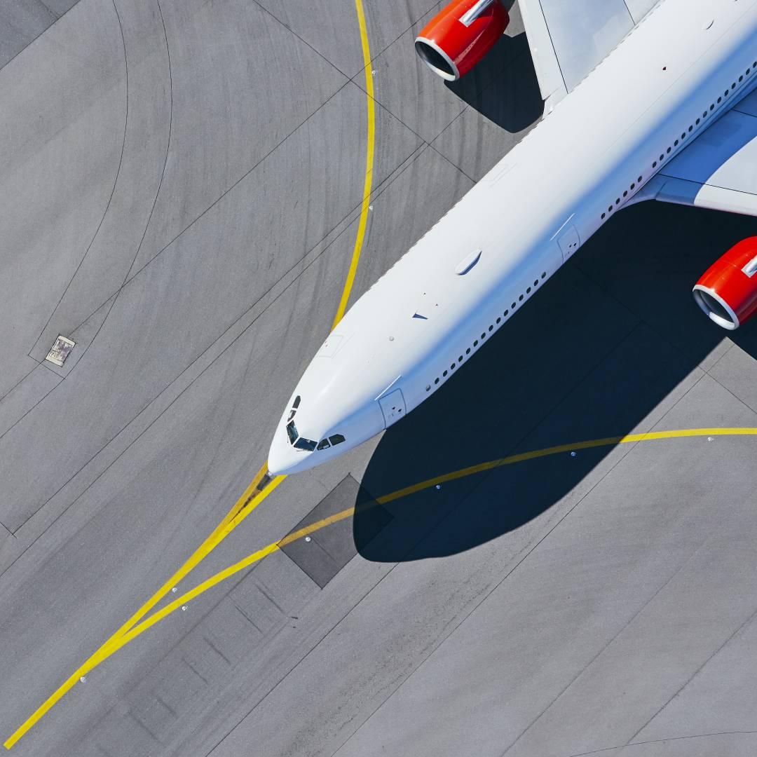 Flugplatzmarkierung